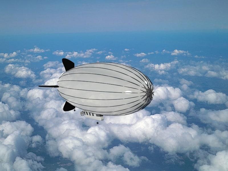 3d airship model