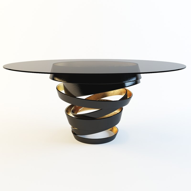 dining intuition table 3d model