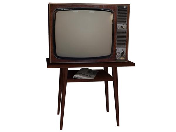 ussr tv 3d model