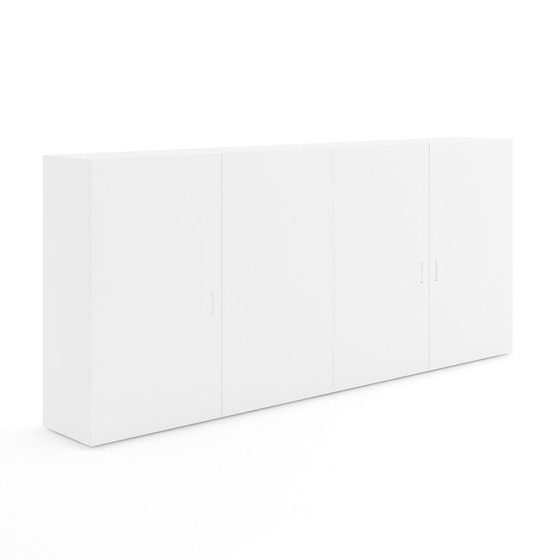 white double cupboard
