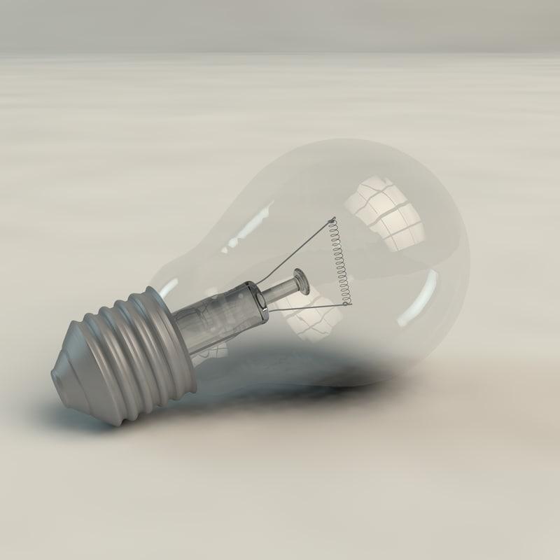bulb normal 3d x