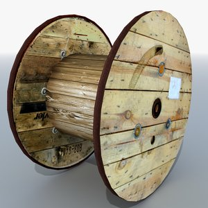 3d industrial cable reel