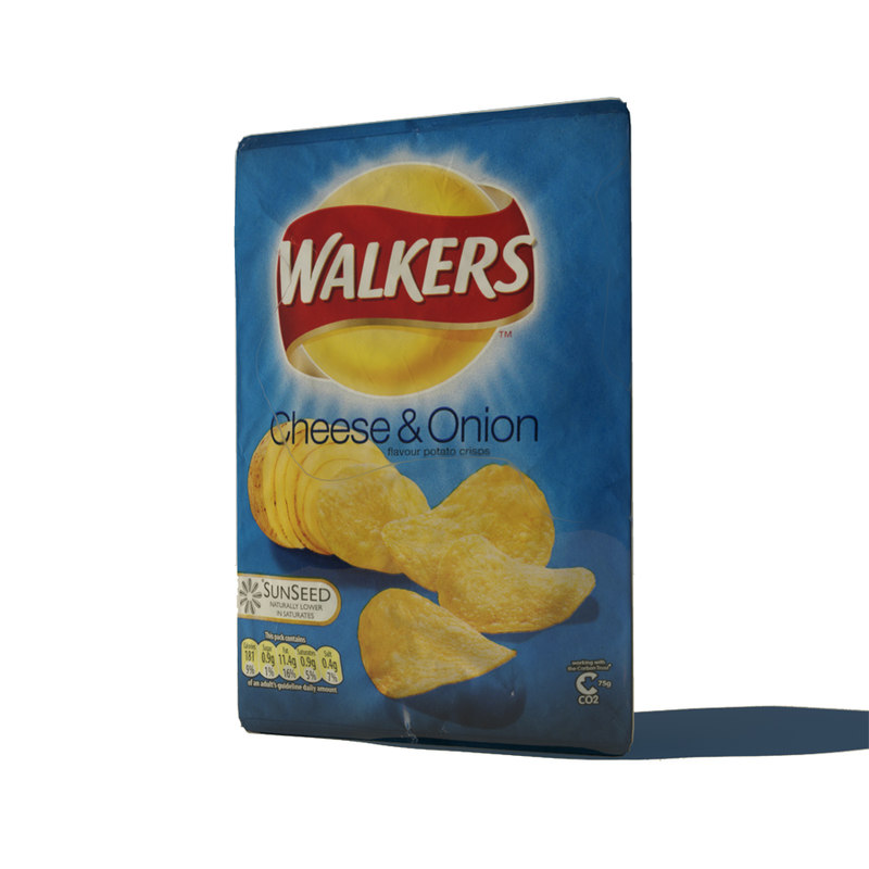 3ds max crisps cheese onion