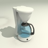 coffee filter machine 3d max