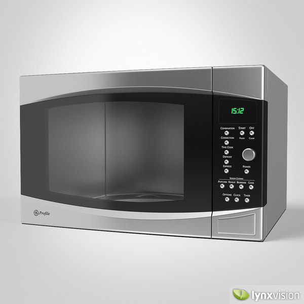 3ds max microwave oven