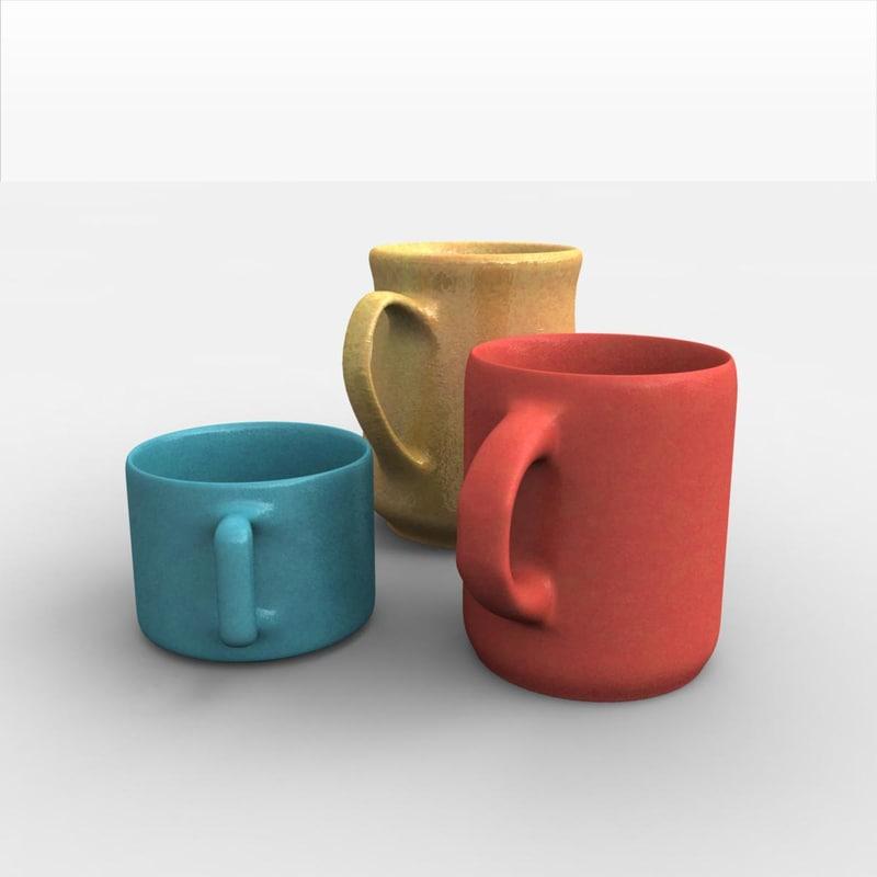 coffee cup mug 3ds