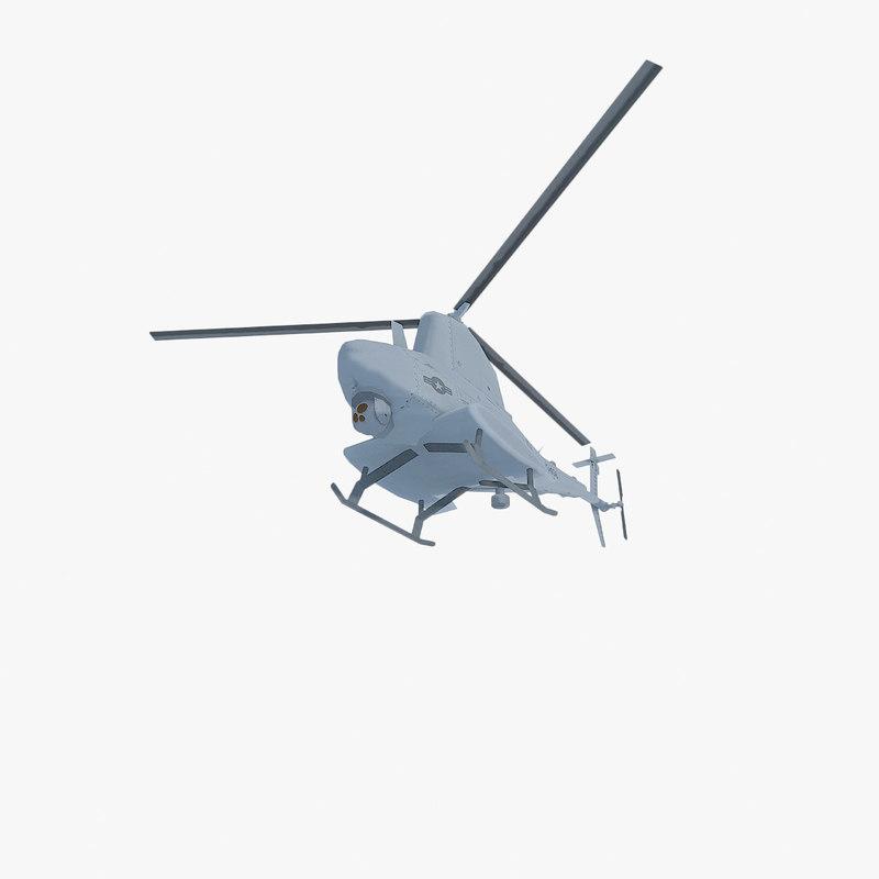 obj northrop grumman mq-8b scout