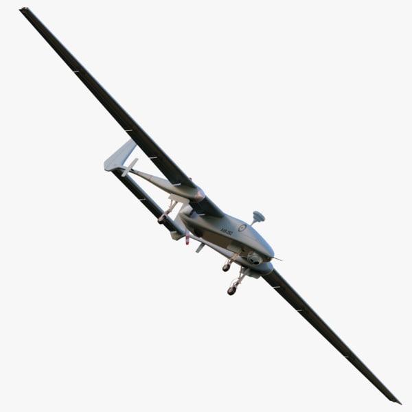 iai heron - australian 3d max