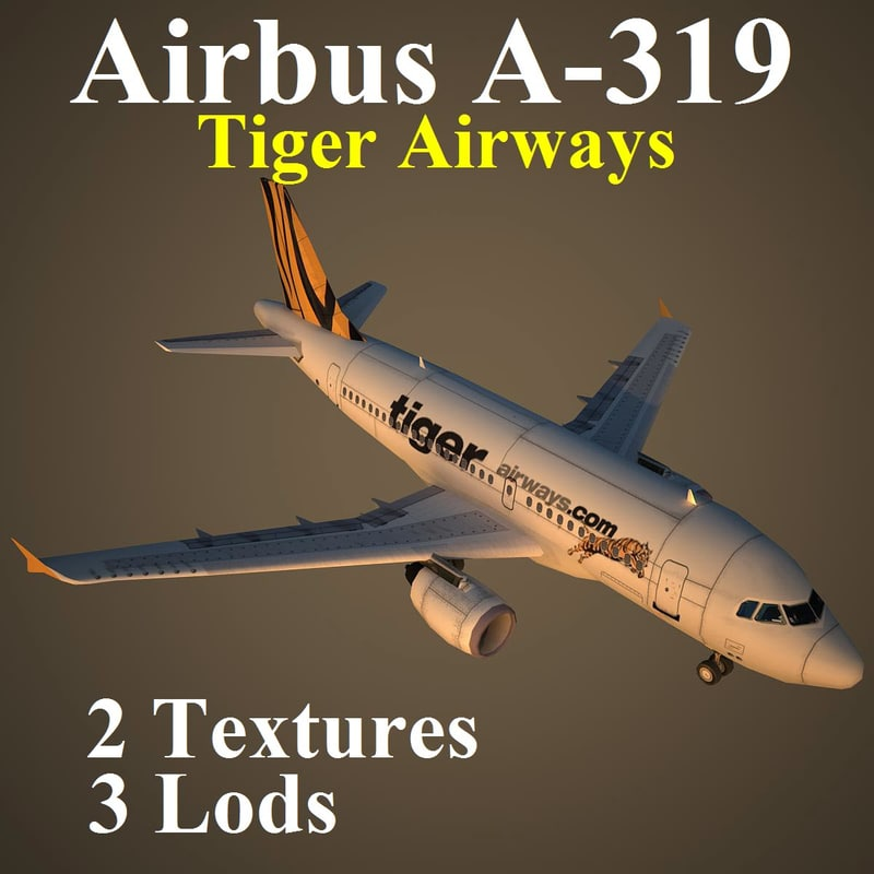 3d max airbus tgw