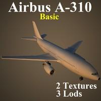 airbus basic 3d max