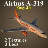 airbus ezy 3d max