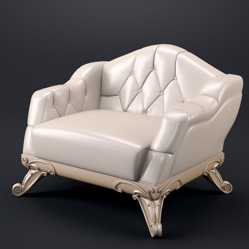 3d meroni 347psal chair model