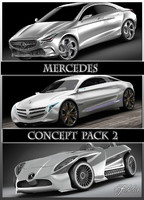 Mercedes Concept pack 2