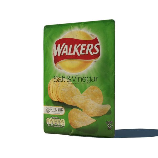 3ds max crisps salt vinegar