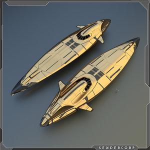 blender ship