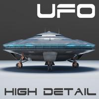 Spaceship  UFO 3D MODEL