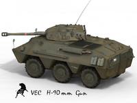 VEC H-90 Spanish Army Scheme