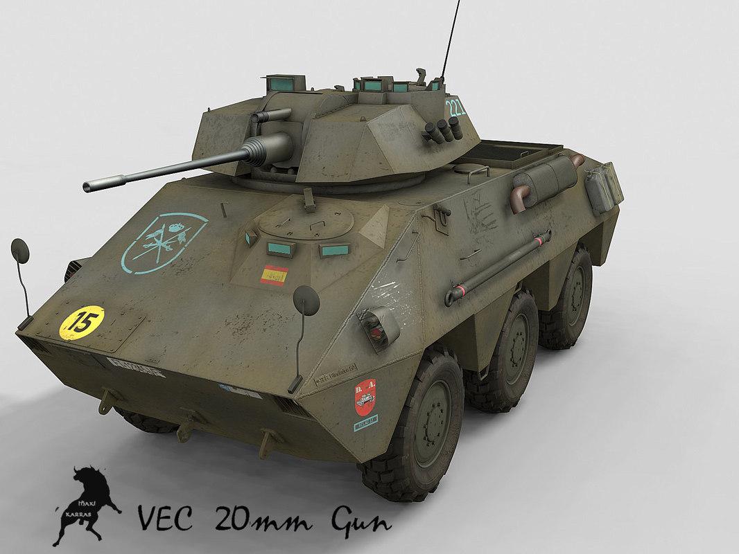 3d model vec spanish