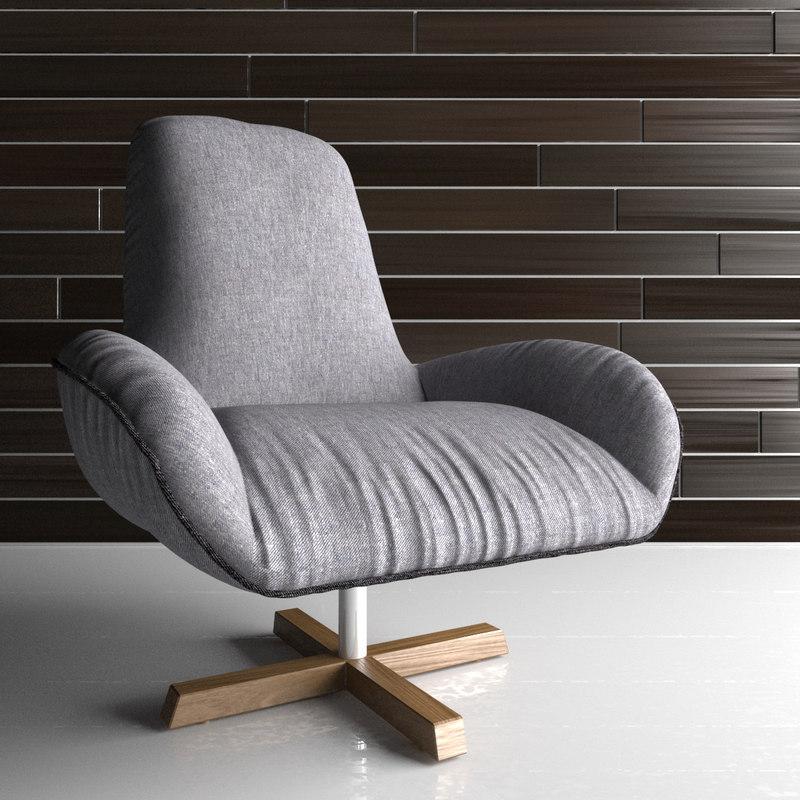 jardan winston chair 3d max