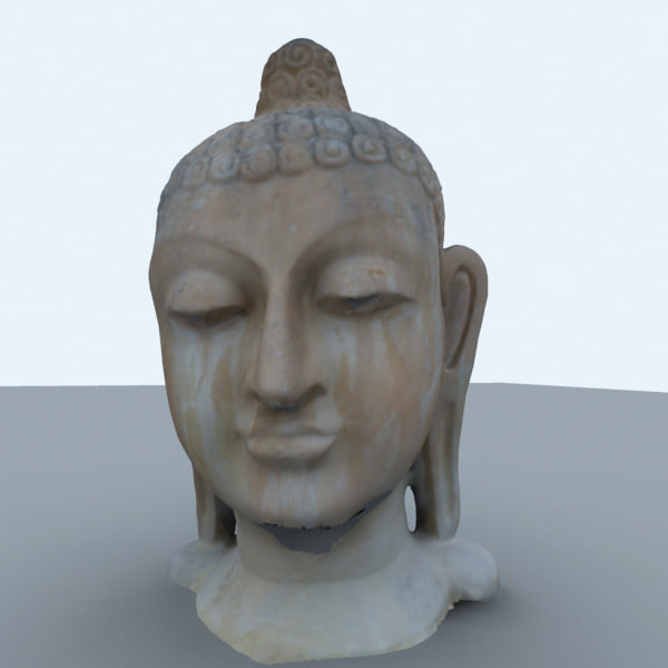 indian budha 3d 3ds
