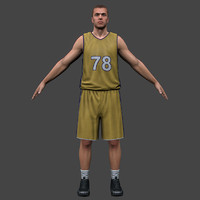 3ds max body basketball