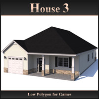 Low Polygon House 3