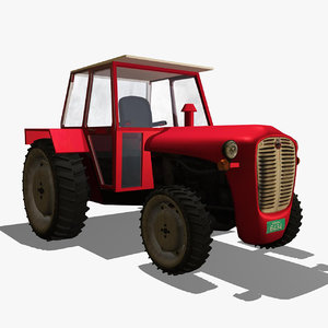3d tractor imt 539 model
