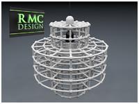 3d chandelier 20 rmc model