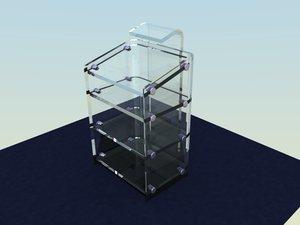 3d blender stand model