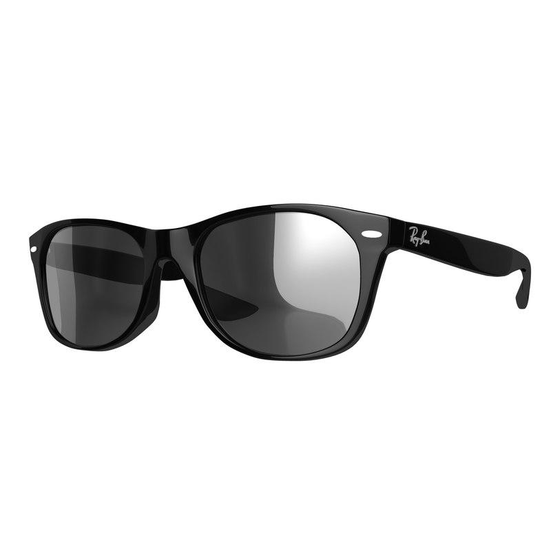ray-ban wayfarer sunglasses 3d max