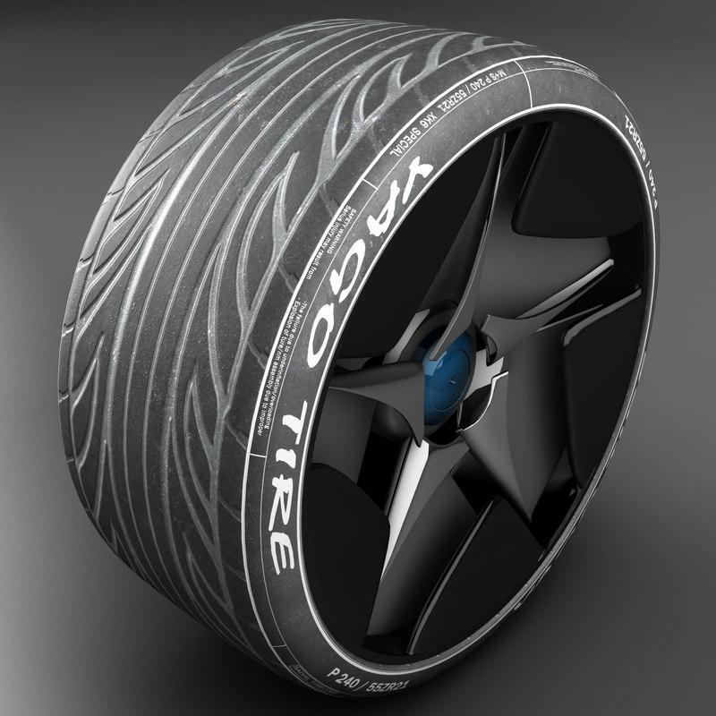 tire 3d 3ds