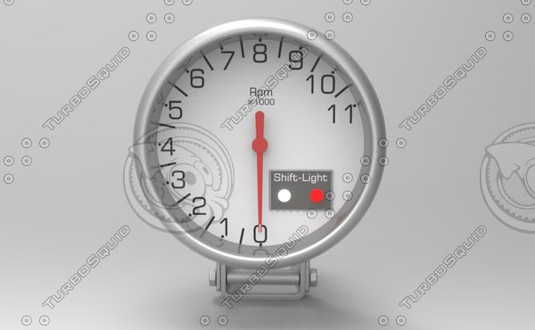 speed rpm indicator design 3ds