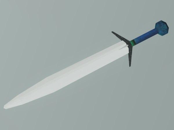 sword fantasy 3d max