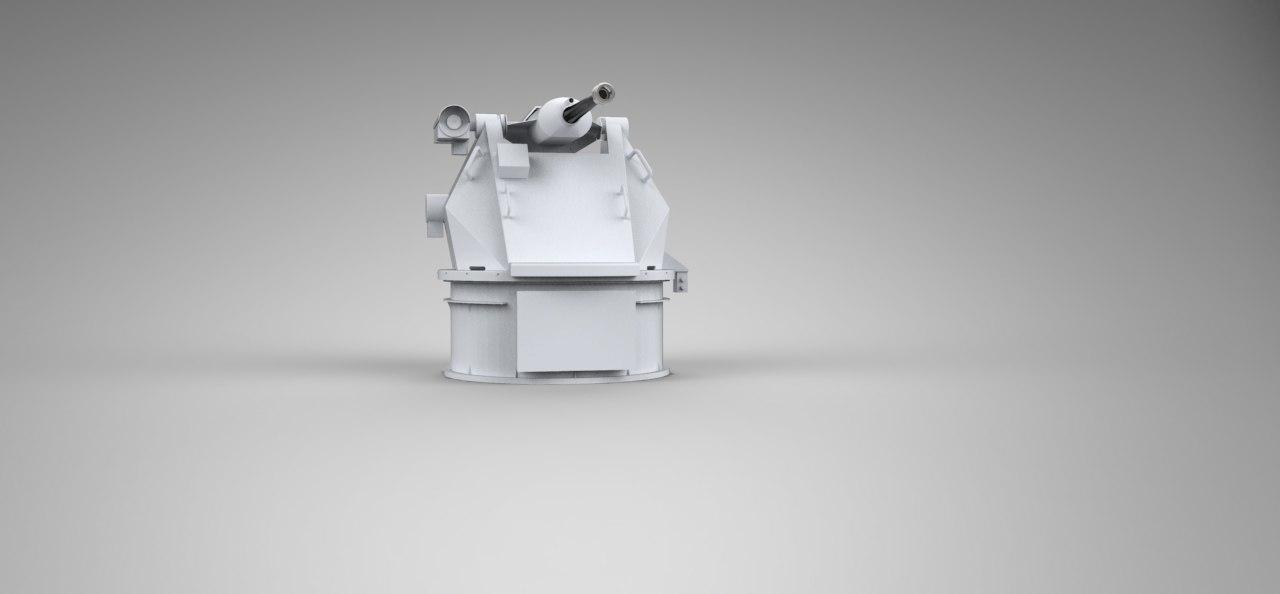 rafael 25mm typhoon 3d model