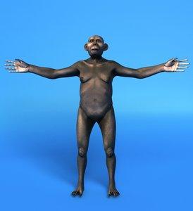 maya australopithecus female
