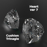 3ds max heart 7 gems