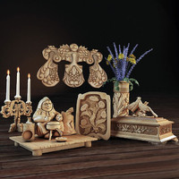 3d decorative set