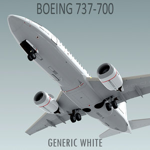 3d boeing 737-700