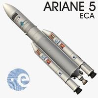 ariane 5 eca 3d max