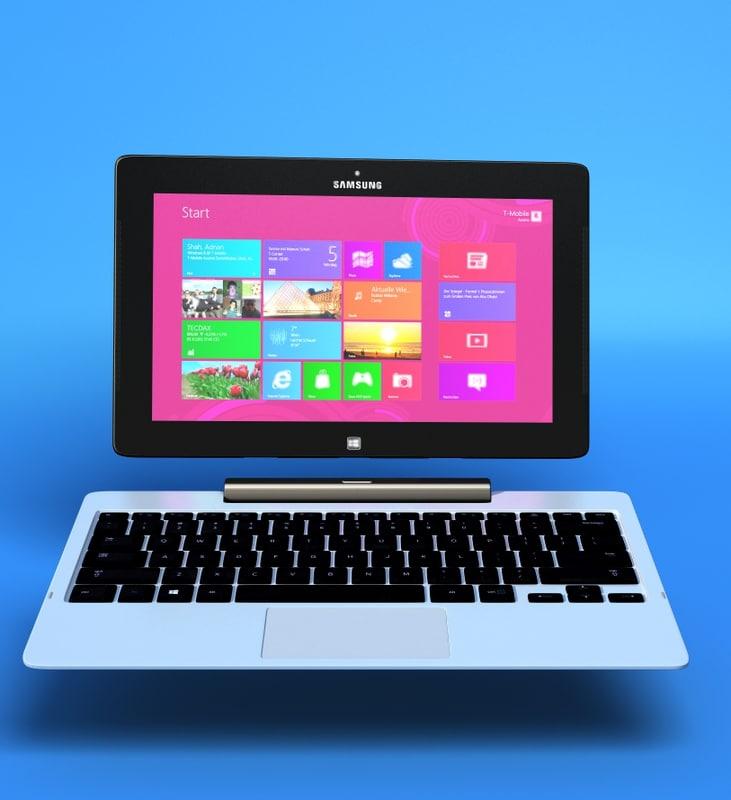 3d model samsung galaxy tablet gace