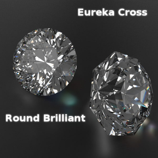 3d model cutted gems