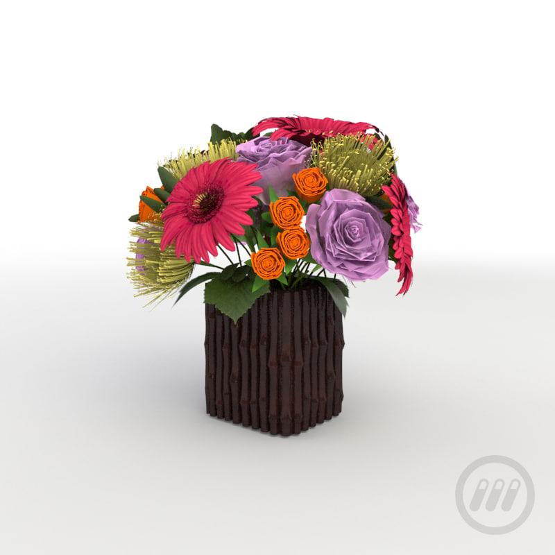 max flower arrangement