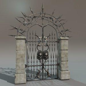 iron gate c4d