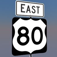u s highway 80 c4d