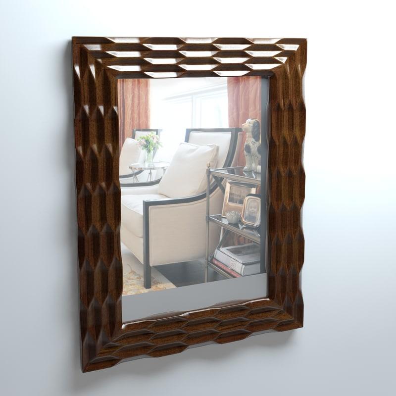 mcguire lantern mirror 3d model