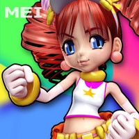 xsi cartoon character mei-chan