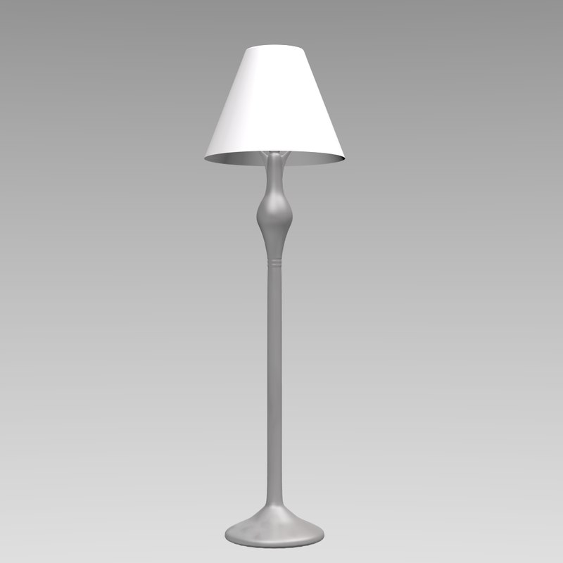 3ds max decorative lamp