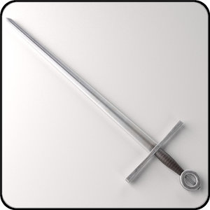 3ds max medieval sword