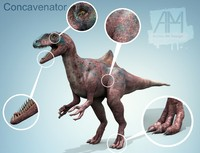 concavenator dinosaurs animal