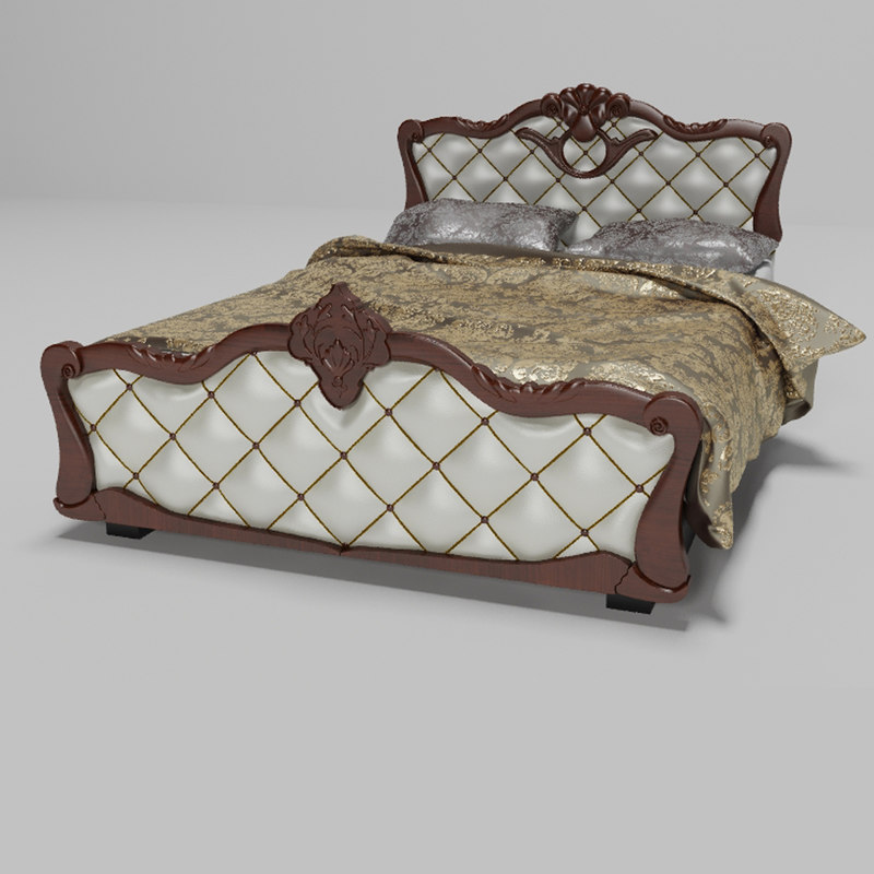 max high-poly bed
